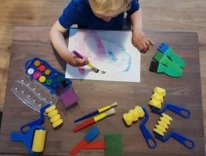 Dětské hobby štětce