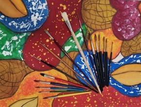 Školní a umělecké štětce